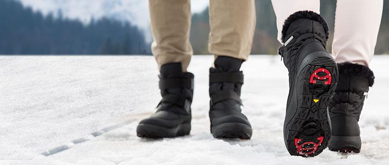 Новые Антискользящие зимние полусапоги Walkmaxx!